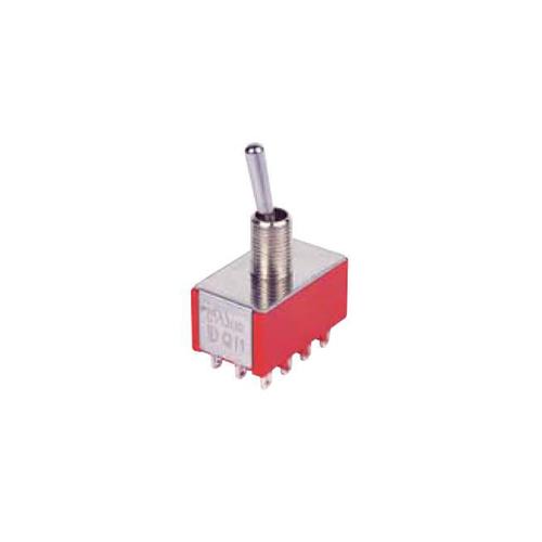 1M - 4PDT - Toggle Switches, PCB switches. RJS Electronics Ltd