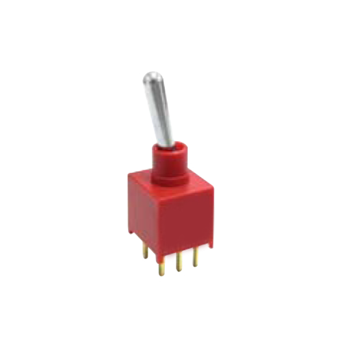 2A Series - Toggle Switches, PCB switches. M2 - DPDT - IP67 rated - RJS ELECTRONICS LTD.