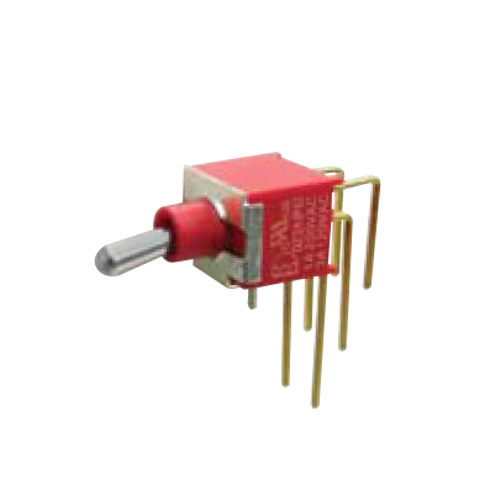 2A Series - Toggle Switches, PCB switches. M7 - DPDT - horizontal - IP67 rated - RJS ELECTRONICS LTD.