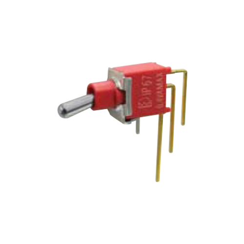 2A Series - Toggle Switches, PCB switches. M7 - SPDT - horizontal - IP67 rated - RJS ELECTRONICS LTD.