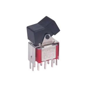 3MSeries - 3A - VS2 - VS3 -DPDT - Rocker Switches, Panel Mount switches. RJS Electronics Ltd