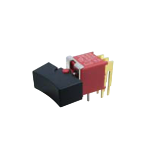 4ASeries - M6 - DPDT - Rocker Switches, Panel Mount switches. RJS Electronics Ltd. PCB, panel mount, rocker switch, switch without LED illumination, IP67 rated, right angle, horizontal rocker switch, electromechanical components. RJS Electronics Ltd.
