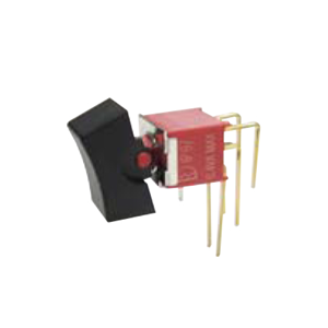 4A Series - M7 - DPDT -Rocker Switches, Panel Mount switches. RJS Electronics Ltd. PCB, panel mount, rocker switch, switch without LED illumination, IP67 rated, right angle, horizontal rocker switch, electromechanical components. RJS Electronics Ltd.
