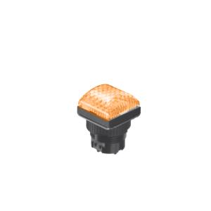 LED Indicator Panel -Domed Sq Type - Yellow - MLC - LED Panel Indicator - RJS Electronics Ltd.