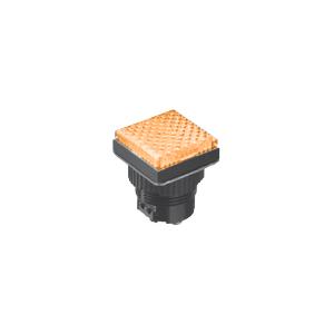 LED Indicator Panel - Flat Sq Type - Yellow - MLC - LED Panel Indicator - RJS Electronics Ltd.
