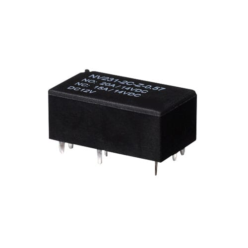 PCB, RELAYS NV231, Automotive Flasher. Automotive Relays, Communication Relays, Connectors & bases, general purpose and heavy duty relays.