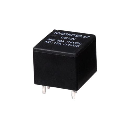 PCB, RELAY: NV23K, Automotive Flasher. Automotive Relays, Communication Relays, Connectors & bases, general purpose and heavy duty relays.