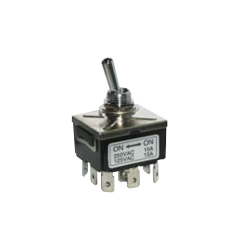 PCB- Toggle Switches- LPO SERIES - 3PDT- RJS ELECTRONICS LTD
