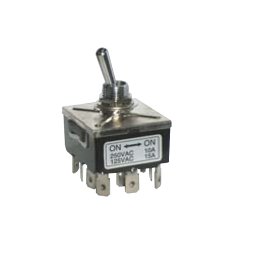 PCB- Toggle Switches- LPO SERIES - 4PDT- RJS ELECTRONICS LTD