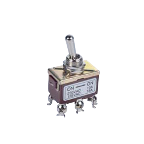 PCB- Toggle Switches- LPO SERIES - DPDT- RJS ELECTRONICS LTD