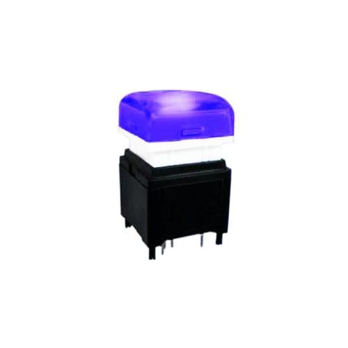 Broadcast push button switch led illumination, with RGB LED , RJS electronics