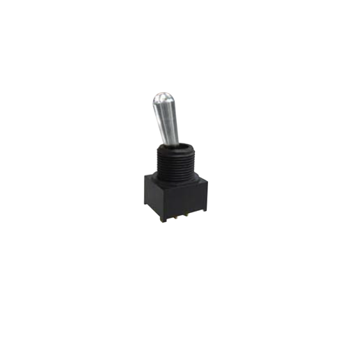 Toggle & Rocker Switch, RJS-1A-M1, Black/Grey, RJS Electronics Ltd.