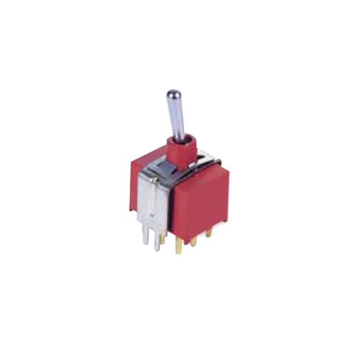 Toggle & Rocker Switch, RJS-1A-VS2-VS3-3PDT, plastic, metal, toggle, 3p,dt, RJS Electronics Ltd.