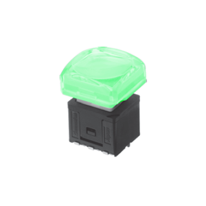 RJS-KA-17.4mm-ILLUMINATED-PUSH BUTTON SWITCH - GREEN - RJS ELECTRONICS LTD.