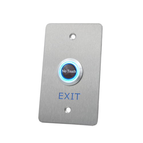 stainless steel touchless exit button, rjs electronics ltd