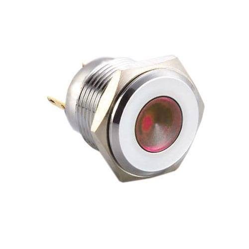 Panel mount, LED indicator with LED illumination.