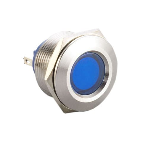 PANEL MOUNT led INDICATOR with LED illumination.