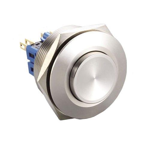 RJS(12)03-28(A)-H-(BSBLK)-67J, 28mm push button metal switch