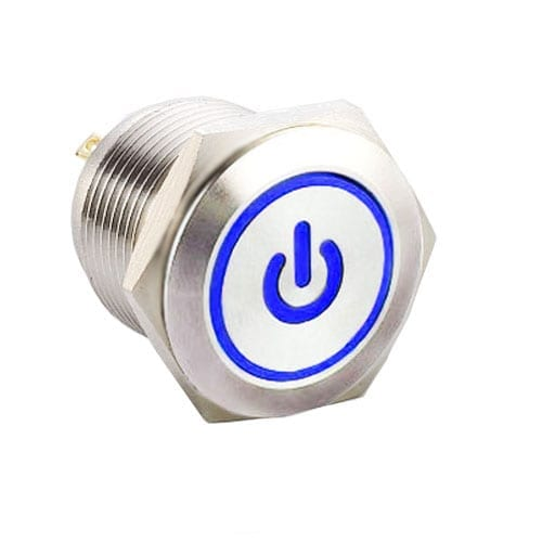 RJS1N1-16L-F-(CUSTOM)~67J, 16mm push button metal switch.