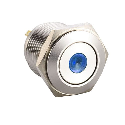 RJS1N1-19L-F-D~67J, 19mm push button metal switch