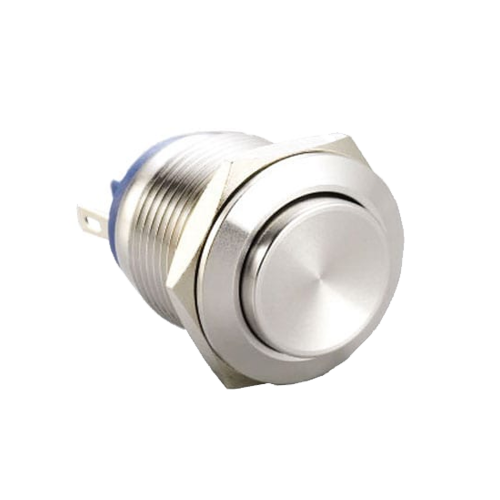 metal anti-vandal push button switch with no led, rjs electronics