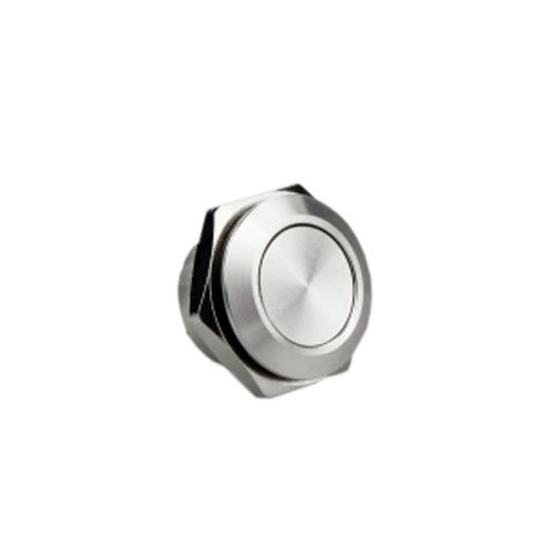 16mm low profile push button switch, anti vandal proof, non-illuminated, rjs electronics ltd