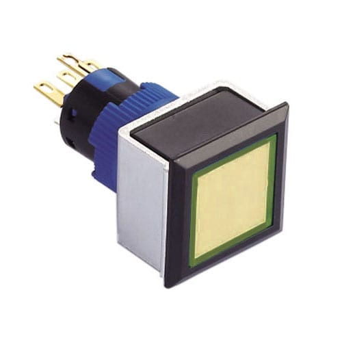 16mm plastic led indicator switch rjs electronics