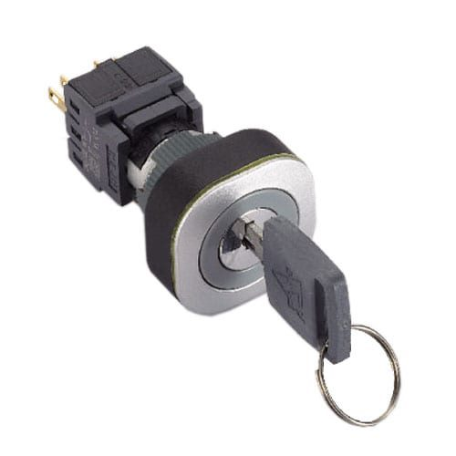 Plastic keylock switch square