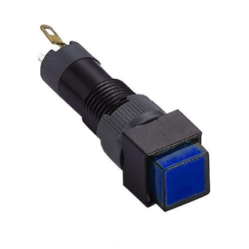 8mm plastic led indicator switch rjs electronics