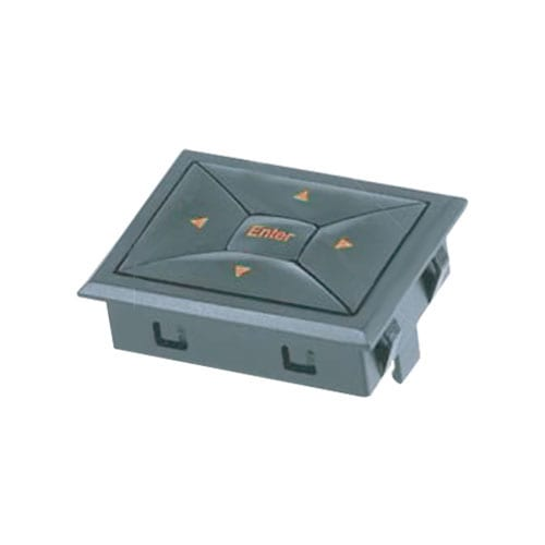 SNA4 rectangular 5-way navigation module switch