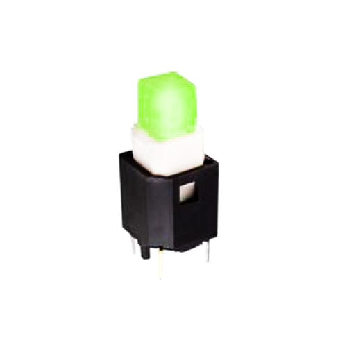 push button switch with led illumination, tactile feel, rjs electronics
