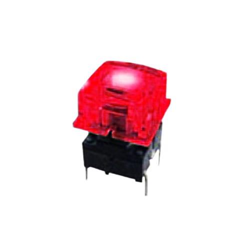 tc018 led illuminated push button tact switch. IP Rated available at rjs electronics ltd