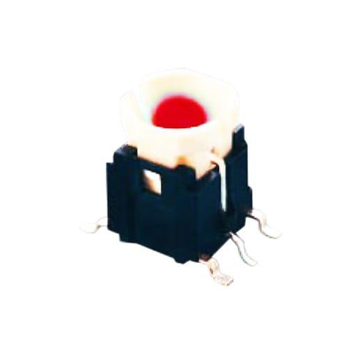 pcb led illuminated tactile push button switch rjs electronics