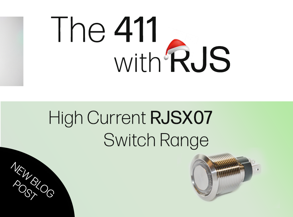411 WITH RJS, HIGH CURRENT SWITCH RANGE, ANTI VANDAL SWITCHES