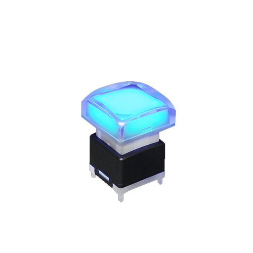 spg 1/2 series square cap - push button switch - rjs electronics