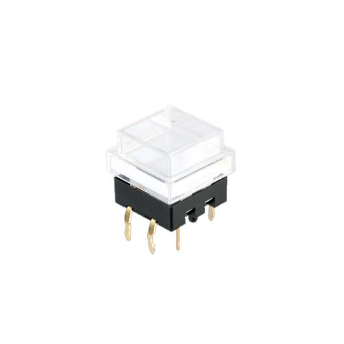 spl12 clear cap - push button switch - rjs electronics ltd