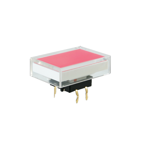 spl16 rectangle cap red, push button switch, rjs electronics ltd